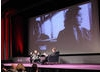 Secret Millionaire screenwriter Simon Beaufoy talks to guests and Matthew Sweet about his career. (Photography: Jay Brooks)
