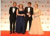 Citation readers Joseph Mawle and Holliday Grainger with winning filmmakers Gerardine O'Flynn and John Maclean.