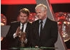 James Corden and Richard Curtis introduce the recipient of this year's Special Award.