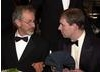 HRH Prince Andrew, Duke of York and Steven Spielberg