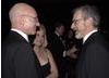Patrick Stewart and Steven Spielberg