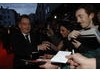 The Queen director Stephen Frears meets fans on the red carpet (BAFTA / Liam Daniel).
