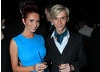 TOWIE's Amy Childs and Harry Derbidge relax at the After Party after presenting the Youtube Audience Award.