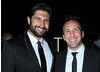 Facejacker's Kayvan Novak flashes a cheeky grin at the Television Awards After Party.