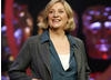 Victoria Wood on stage at Happy Birthday BAFTA