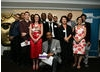 BAFTA Mentor Pippa Harris (fourth right) with young filmmakers and youth workers from CHC