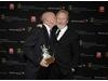 Tony Scott and Ridley Scott accept the Britannia Award for Worldwide Contribution to Filmed Entertainment for their company Scott Free Productions.