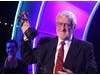 Actor Bernard Cribbins receives the Academy's Special Award on stage at the EA British Academy Children's Awards in 2009.