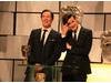 Benedict Cumberbatch & Matt Smith at the Television Awards in 2012.