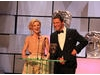 Dominic West and Emilia Fox present the first award of the evening, Drama Series.