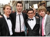The stars of The Inbetweeners arrive on the red carpet (BAFTA/Richard Kendal).