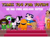 Thank You For Voting in the 2011 BAFTA Kids' Vote