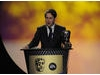 The actor accepts the BAFTA for his laugh-out-loud performance in the popular sketch show. Pic: BAFTA/Steve Finn