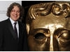 TV Craft presenter Alan Davies heads backstage for a couple of photos after a successful show