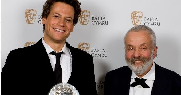 Ioan Gruffudd & Mike Leigh