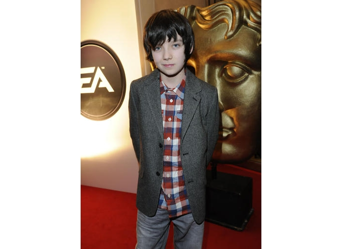Asa Butterfield, star of Nanny McPhee And The Big Bang, takes a break