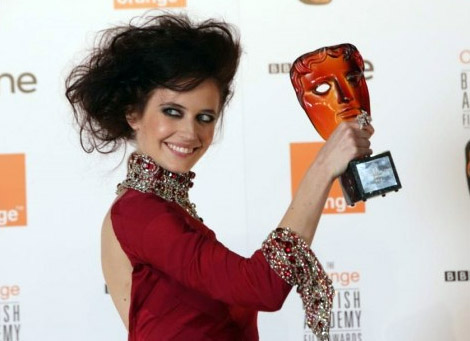 Orange Rising Star Award winner in 2007, Eva Green.