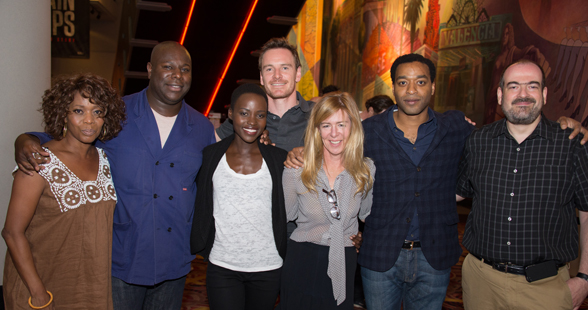Cast, Director and Producer of 12 Years a Slave