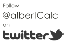 Follow @albertCalc on Twitter