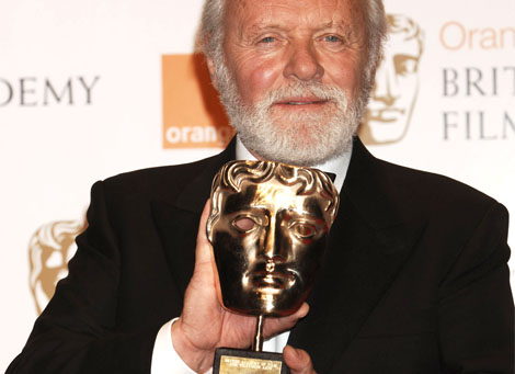 Anthony Hopkins was honoured with the Academy Fellowship.