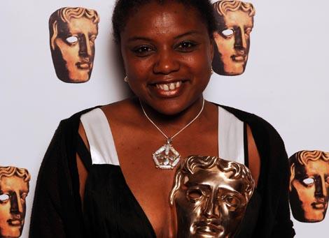 Television Craft Break-Through Talent winner, Sharon Foster.