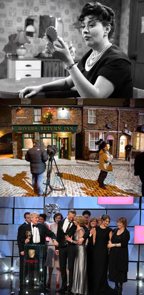 Coronation Street Collage