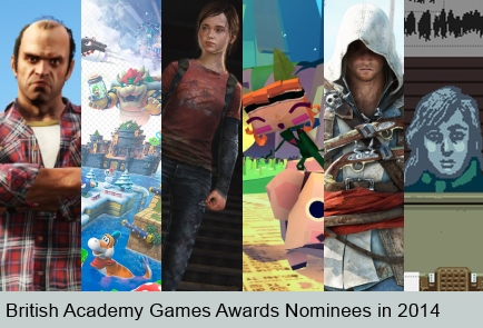 Games Awards Nominees 2014 [large promo]