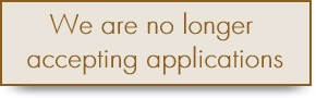 We are no longer accepting applications [290 x 90]