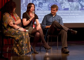 BAFTA Rocliffe Comedy writers at the New York TV Festival