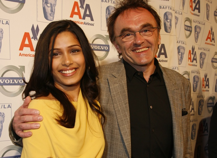 Frieda Pinto and Danny Boyle