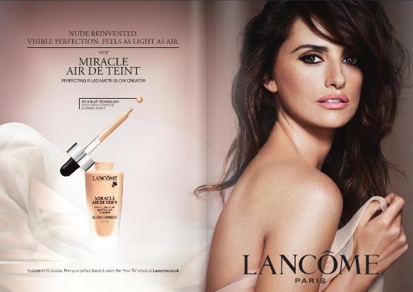 Lancome Ad