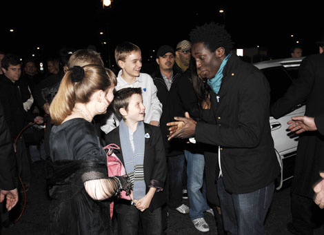 The CBBC Me and My Movie nominees arrive at the British Academy Children's Awards.