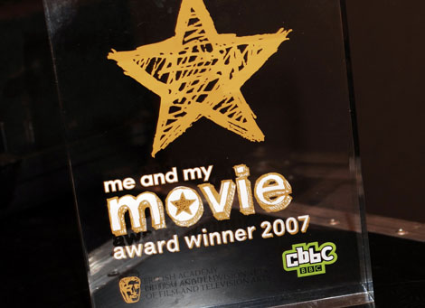 The CBBC Me and My Movie award in association with BAFTA.
