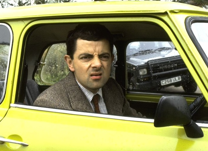 ... Mr Bean. It's not particularly fashionable but it's sold