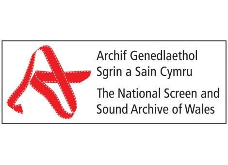 National Screen and Sound Archive of Wales logo