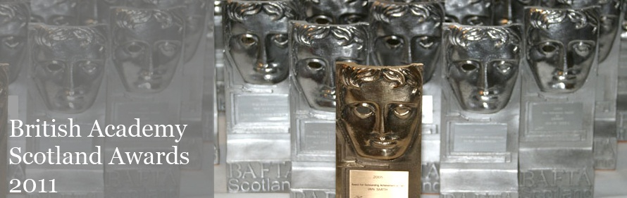 BAFTA in Scotland Awards 2011 banner