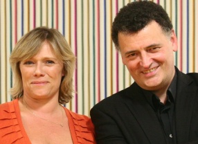 Sue Vertue and Steve Moffat