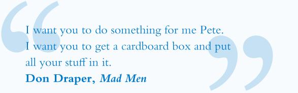 Screenwriting: Mad Men