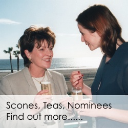 Scones, Teas, Nominees Advert