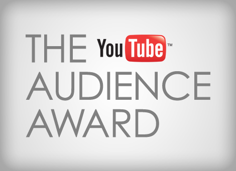 The YouTube Audience Award in 2010.