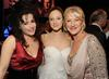 Helena Bonham Carter, Andrea Riseborough, and Helen Mirren