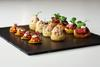 Canapés served at the EE BAFTA Film Awards 2014