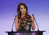 Rachel Stevens presenting The BAFTA Kids Vote in 2008.