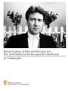 David Lynch - David Lean Lecture Brochure 2007