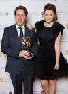 BAFTA winner Howick with Chronicles Of Narnia actress Georgie Henley. Pic: BAFTA/Richard Kendal