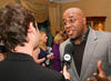 AInsley Harriot at the EA British Academy Children's Awards ceremony