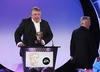 LBC Radio presenter Nick Ferrari presents the Interactive Award in 2008.