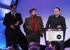 'Bow Street Runner' team collect the Interactive Award in 2008.