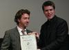 Lorne Hiltser with 2010 finalist Andrew Spieler