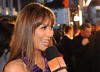 Orange presenter Myleene Klass meets and greets the stars on the red carpet. 